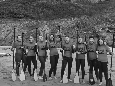 Womens Surf & Stand Up Paddle Boarding in Pembrokeshire