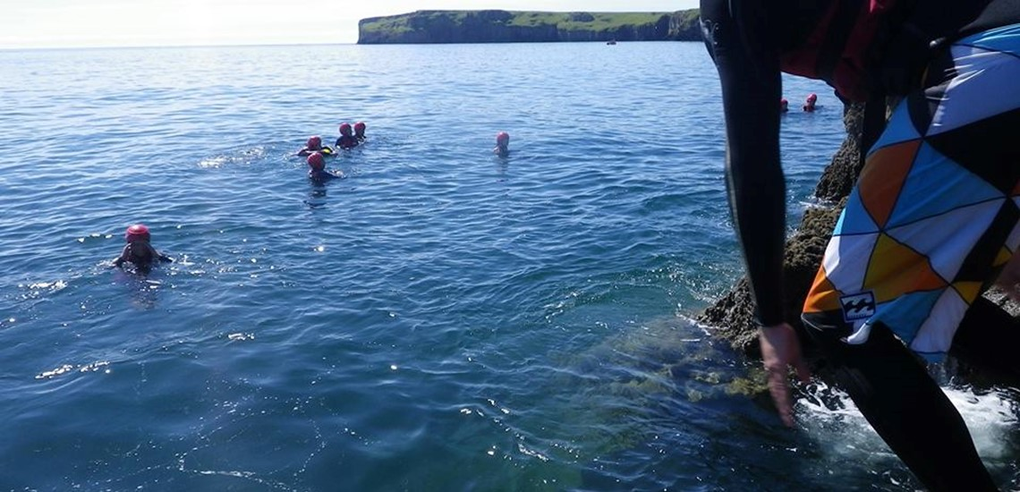 Coasteering In Pembrokeshire