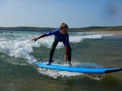 Surfing Lessons Pembrokeshire