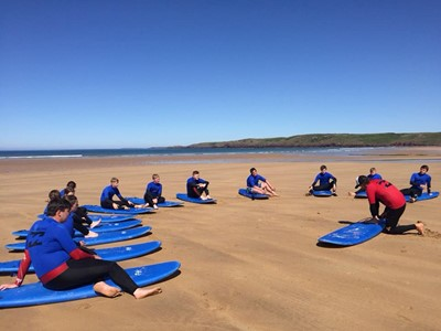 Activities for Junior & Secondary Schools in Pembrokeshire