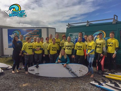 Women's Surf & SUP Weekends In Pembrokeshire