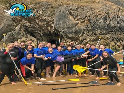 Warrior Weekend Surf & Sup Trip In Pembrokeshire, Wales