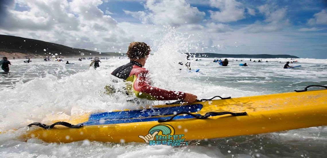 Outer Reef Surf Centre beach lifeguard training school is based on the Welsh coast in Pembrokeshire,