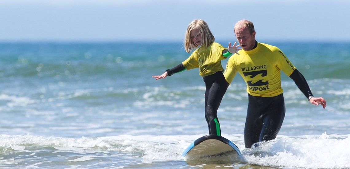 Surfing Lessons Pembrokeshire | Contact Outer Reef Surf School