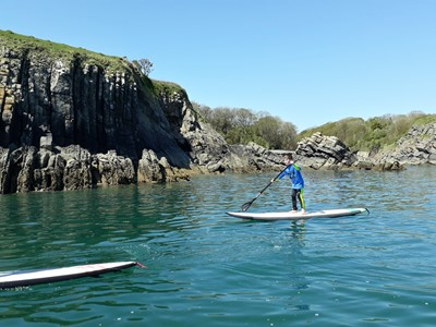 Stand Up Paddle Boarding For Beginners | Sup Courses Pembrokeshire