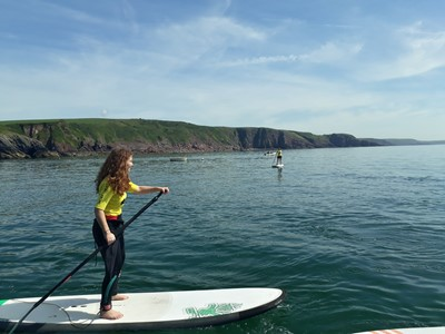 Outer Reef Stand Up Paddle Boarding Lessons Pembrokeshire, Wales