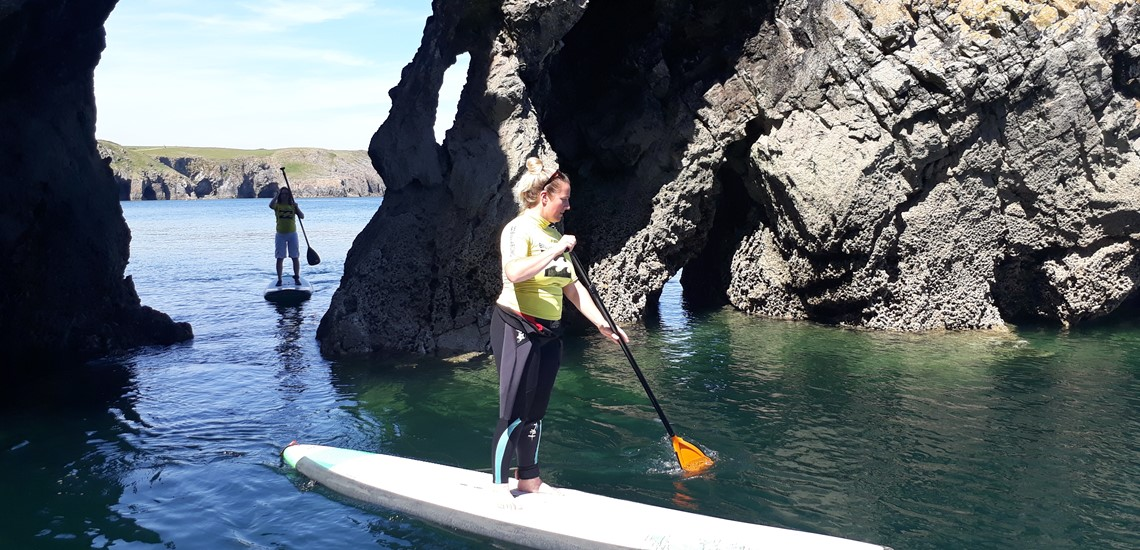 Pembrokeshire surfing Lessons | Paddle Boarding Courses Locations