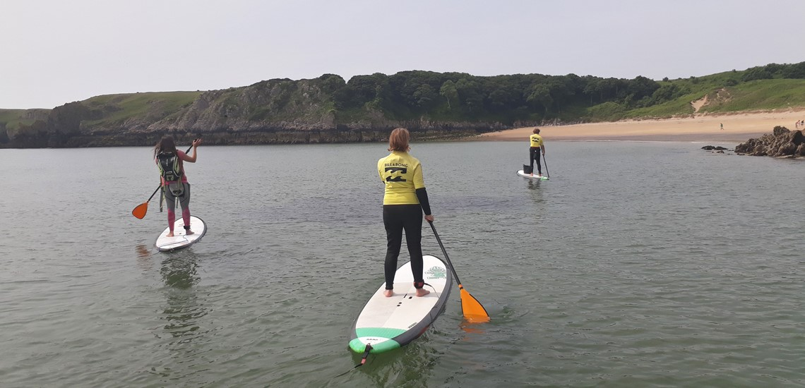 Paddle Boarding Saundersfoot | Learn To Paddle Board Pembrokeshire, Wales