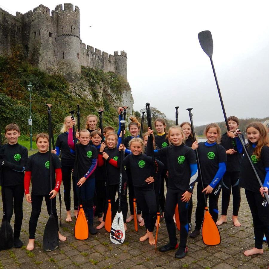 Paddle boarding and surfing in Pembrokeshire
